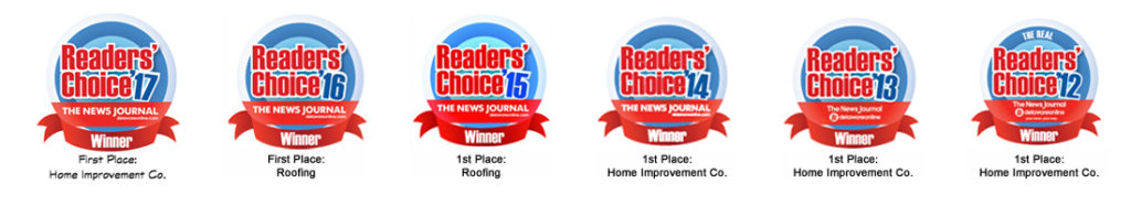 Ferris Home Improvements winners of Readers' Choice Award 6 years in a Row!