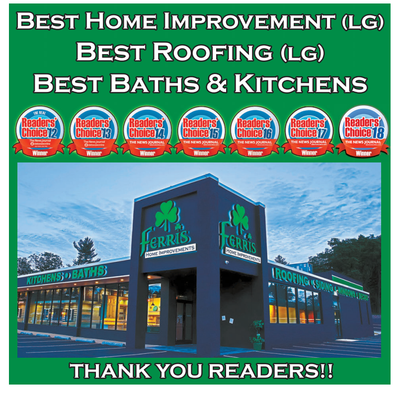 Readers Choice Award ferris home improvements