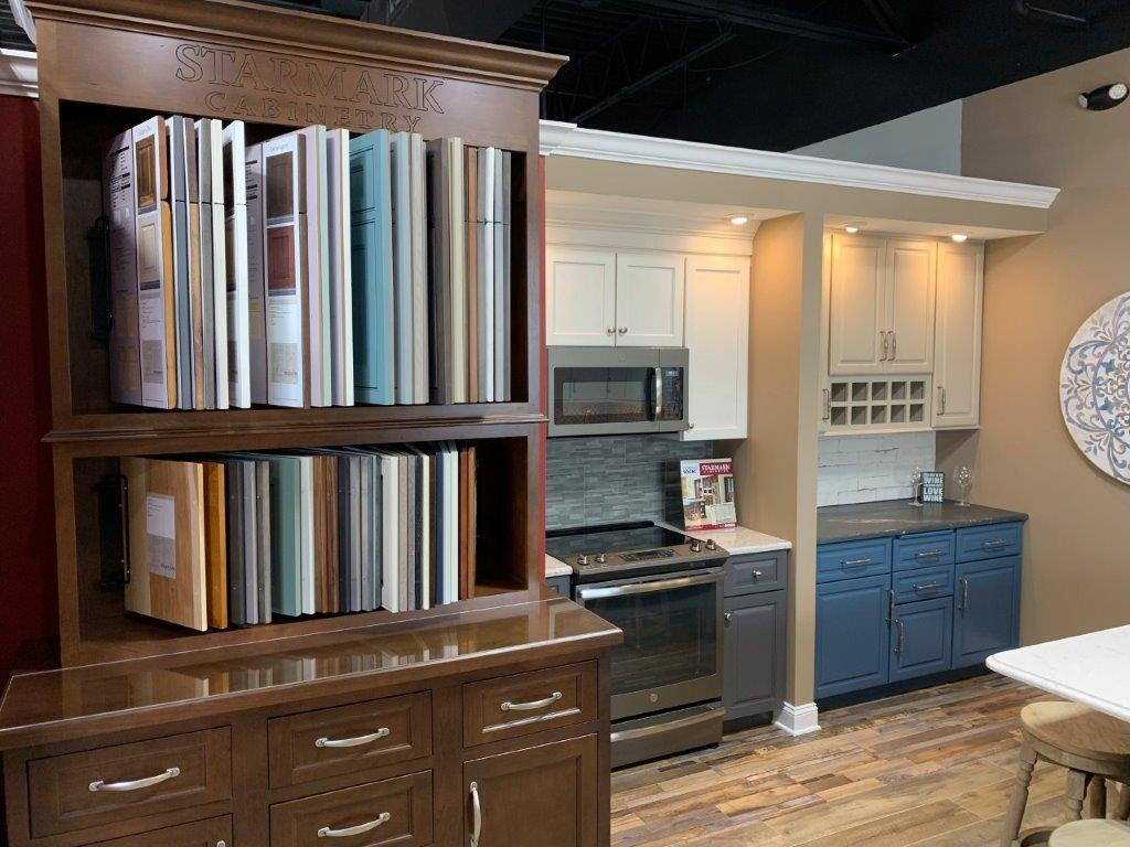 Ferris Home Improvements Rehoboth Beach Showroom Material Selection