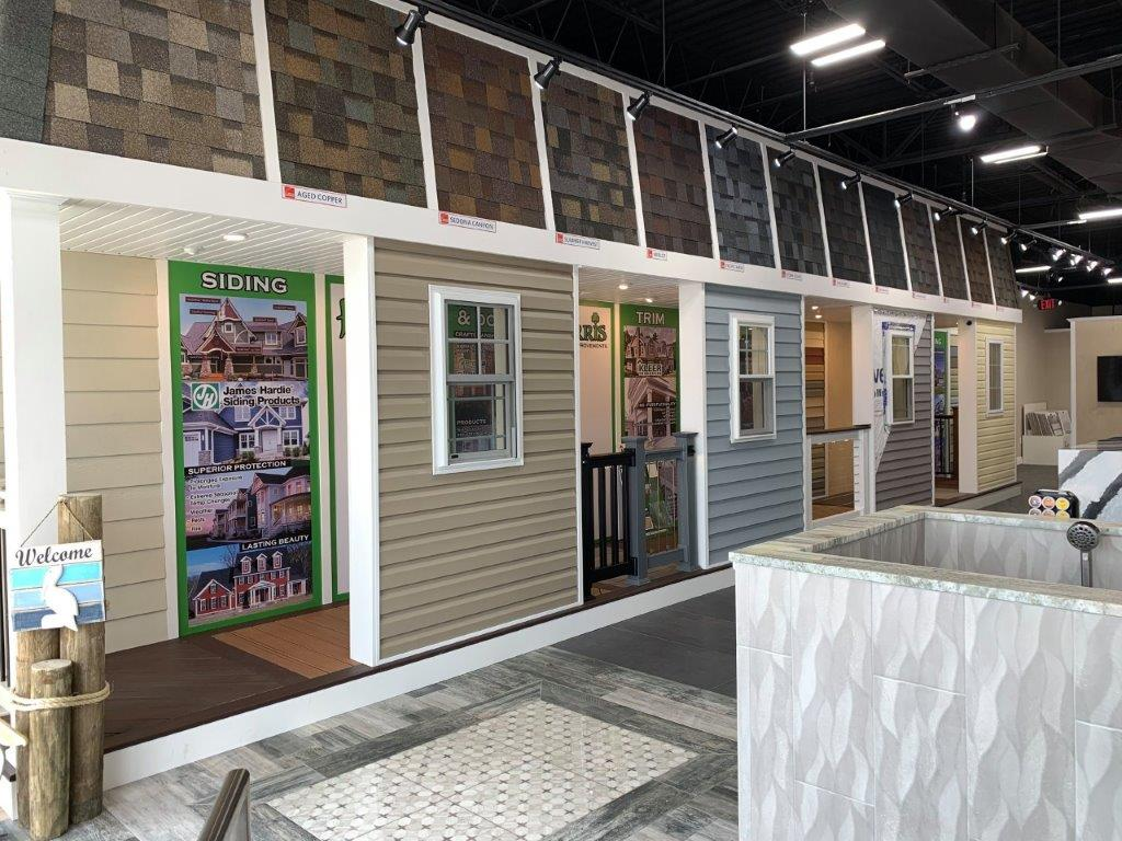 Ferris Home Improvements Rehoboth Beach Showroom - shingles- siding-windows